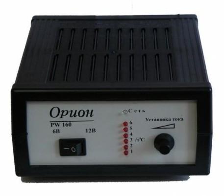 схема зарядки Орион PW-320