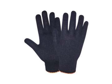 Перчатки х/б трикотажные 7, 5класс (черные) РБ (44гр), Беларусь