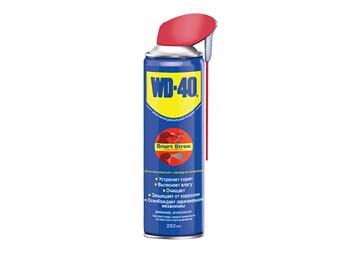 Смазочно-очистительная смесь WD-40 250 мл Smart Straw (с усиленной трубочкой для нанесения.), Великобритания