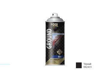 Грунтовка антикоррозийная черный INRAL 400мл (9011), Польша