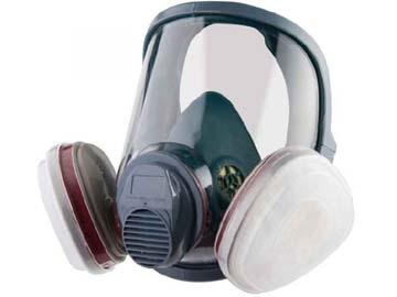Маска полнолицевая без фильтра 5950 Jeta Safety (байонет. крепл. фильт., р-р М), Китай