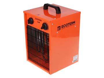 Нагреватель воздуха электр. Ecoterm EHC-03/1E (кубик, 3 кВт, 220 В, термостат), Китай