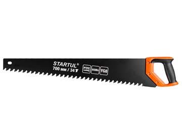 Ножовка по газобетону 700мм 34 зуба с напайками STARTUL PROFI (ST4088-34) (по пенобетону), Китай