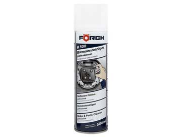 """Очиститель тормозов R500 """"Профессионал"""" 500 мл FORCH (с содержанием ацетона), Германия"""