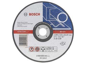 Круг отрезной 150х2.5x22.2 мм для металла Expert BOSCH, Словения