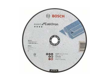 Круг отрезной 230х3.0x22.2 мм для чугуна Expert BOSCH, Германия