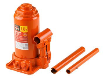 Домкрат гидравлический 10т бутылочный STARTUL AUTO (ST8011-10) (h min 200мм, h max 385мм), Китай