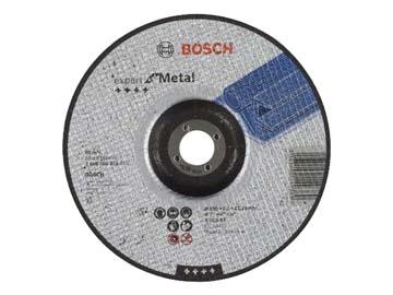 Круг отрезной 180х3.0x22.2 мм для металла вогнутый Expert BOSCH, Словения