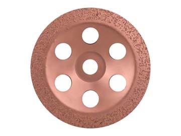 Твердоспл. чашечный круг Ф180мм мелкое зерно (BOSCH), Германия 2608600362