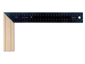 Угольник столярный 300х145мм алюм. скошен. рукоятка SRG 300 (SOLA), Австрия