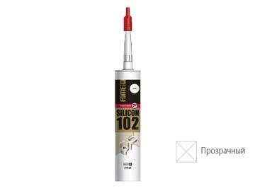 """Герметик силиконовый FOME FLEX """"SANITARY SILICON 102"""" (прозр.) 310мл, Эстония"""
