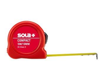 "Рулетка 8м/25мм ""Compact"" CO 8m (SOLA), Китай"