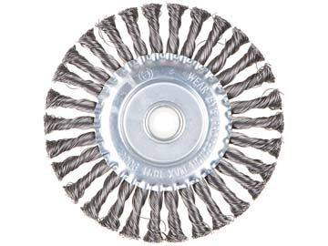 Щетка дисковая косич.180ммх22мм GEPARD (GP0880-180) (для УШМ, в блистере), Китай