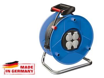 Удлинитель на катушке 40м (4 роз., 5.5кВт, с/з) Brennenstuhl Garant (5, 5кВт - макс. мощ., 3, 3кВт - номин. мощ., 3х2, 5мм2, степень защиты: IP20), Германия