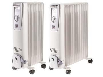Радиатор масляный электрич. Термия H0815 (1500 Вт, 8 секций) (ТЕРМИЯ), Украина