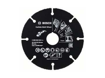 Круг отрезной 115х1.0x22.2 мм для дерева Multi Wheel BOSCH, Швейцария