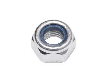 Гайка М10 со стопорным кольцом, цинк, DIN 985 (2300 шт в коробе) STARFIX, Китай SM-50738-2300