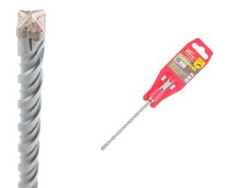 Сверла по бетону для перфораторов SDS-plus 6х100х160 мм бур (сверло) SDS-plus E4 WORTEX, Китай