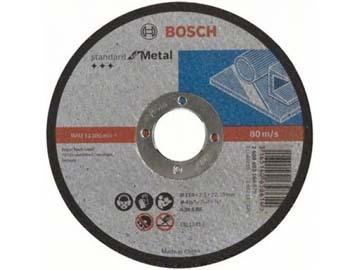 Круг отрезной 115х2.5x22.2 мм для металла Standard BOSCH, Китай
