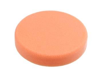 Полировальный круг 150/ 30мм, на липучке (оранжевый, средн. мягкость, яп.) (WORTEX), Китай