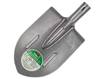 Лопата штыковая 205х400мм с ребрами жесткости STARTUL GARDEN  (рессорно-пружинная сталь, рельсовая сталь), Китай ST6084-02