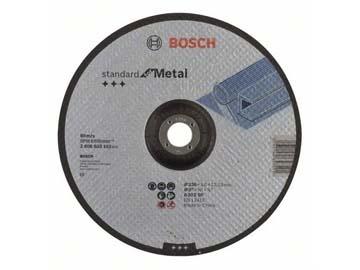 Круг отрезной 230х3.0x22.2 мм для металла Standard BOSCH (вогнутый), Китай