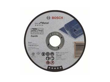 Круг отрезной 125х1.0x22.2 мм для металла Best BOSCH (прямой), Германия