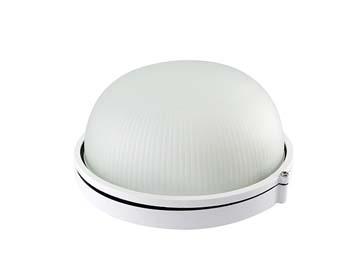 Светильник НПБ1301 белый, круг 60Вт IP54 TDM, Россия