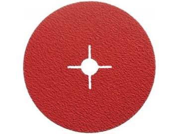 Фибровый шлифкруг 125мм P60 д/мет. нерж. алюм. QUANTUM (125x22 F996 P60 Керамическое зерно) (NORTON), Франция