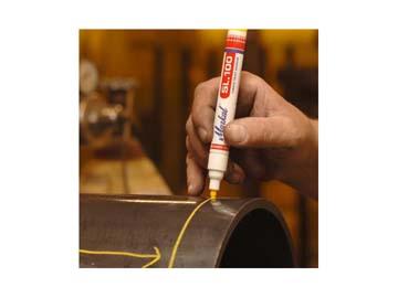 Маркер промышл. перманентный на основе жидк. краски MARKAL SL100 ЧЕРНЫЙ (Толщина линии 3 мм. Цвет черный), Германия