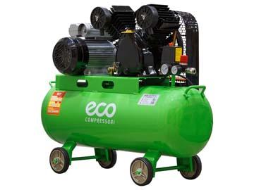 Компрессор ECO AE-705-B1 (380 л/ мин, 8 атм, ременной, масляный, ресив. 70 л, 220 В, 2.20 кВт), Китай