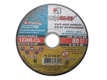 """Круг отрезной 355х3.0x25.4 мм для металла LUGAABRASIV /ручной/(""""Ручной"""" - двустороннее усиление круга, в отличии от обычного), Россия"""