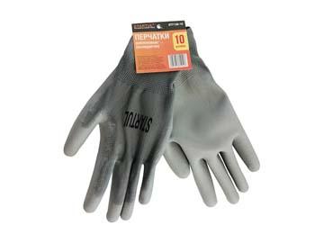 Перчатки нейлон полиуретан. неполн. покрытие размер №10 STARTUL (ST7128-10), Китай