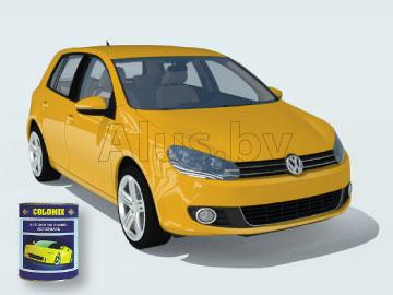 Автоэмаль желтая 1035, 0, 8 кг