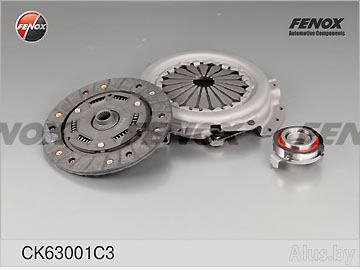 Сцепление в сборе ВАЗ-1111 (корзина, диск, подш.) Fenox артикул CK63001C3