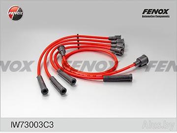 Провода высоковольтные ВАЗ-2121, 21213 силикон Fenox артикул IW73003C3