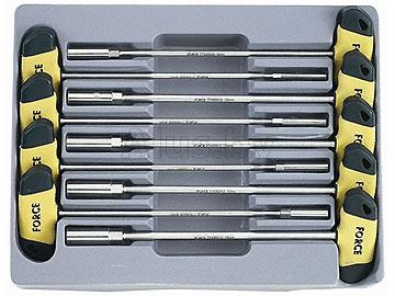 Набор отвёрток под головку с т-обр ручкой 9 предм.5 мм-13 мм
