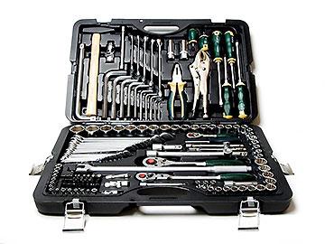 Набор инструмента с головками sl, 142 предм. FORCE 41421R-7