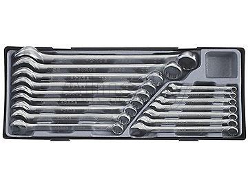 Набор ключей комбинированных в ложементе 16пр. 6-24 мм