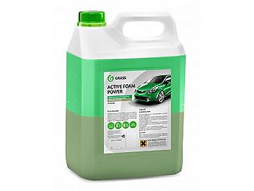 Активная пена Active Foam Power: двухслойный концентрат для бесконт. мойки легкового, грузового, спец.транспорта, тентов, двигателей (аналог ATAS DIMER), 6 кг
