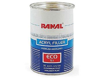 Грунт акриловый ECO 5+1 0, 75+0, 15 серый