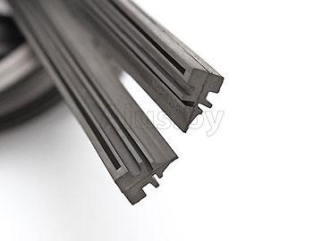 Резинки для стеклоочистителя а/м, 710 мм, 2 шт. KWR-0249