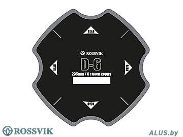 Ш/ Пластырь диагональный, 235мм, 6 слоев (в упаковке 5 шт.)