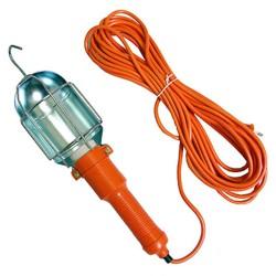 Лампа переносная металлическая