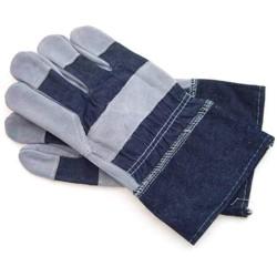 Перчатки х/б-замша