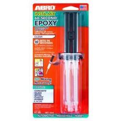 """Клей """"Эпокси-универсальный"""" в шприце (1 мин.) Abro EC-360 (14 мл)</"""