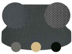 Автоковры в багажник из ЭВА-полимера без окантовки